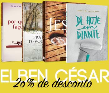 Elben César: livros em promoção